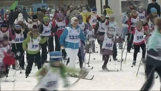 Россияне встали на лыжи