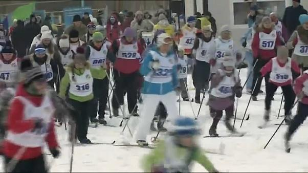 Up to 1.5 million Russians expected for annual ski run