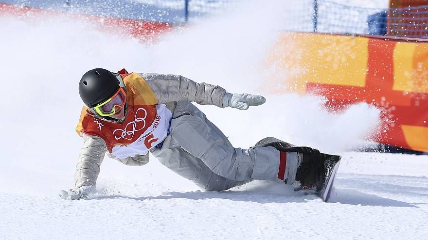'Never give up': drama on day two at the Winter Olympics