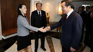 Kuzey ve Güney Koreli yetkililer yemekte buluştu