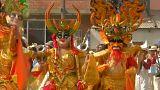 Oro e colori per il Carnevale di Oruro