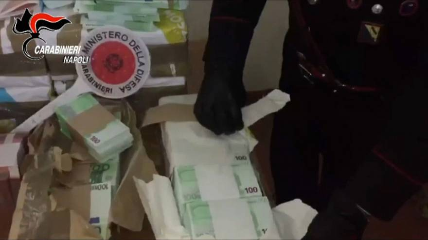 Italia: sequestrati 41 milioni di euro falsi