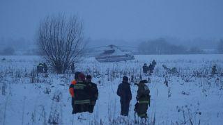 Авиакатастрофа в Подмосковье
