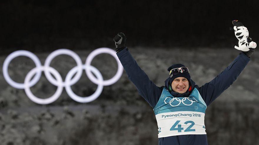 L'italiano Dominik Windisch, bronzo nella 10 km sprint di biathlon