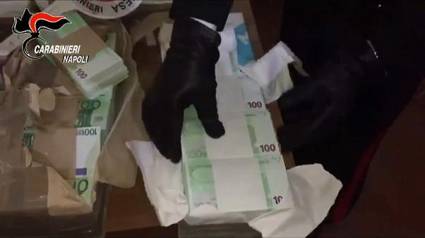 Massive fake currency haul in Italy