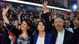 Η νέα ηγεσία του φιλοκουρδικού κόμματος HDP