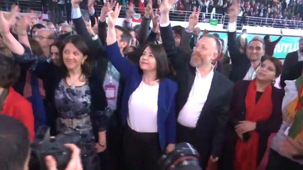 HDP'de yeni eş genel başkanlar Buldan ve Temelli