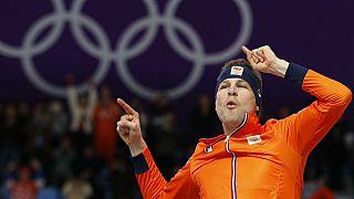 El holandés Kramer agranda su leyenda en Pyeongchang