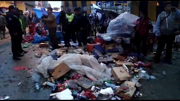 Una explosión de gas tiñe de luto los carnavales de Oruro
