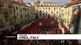 """""""Batalha das Laranjas"""" em Itália"""
