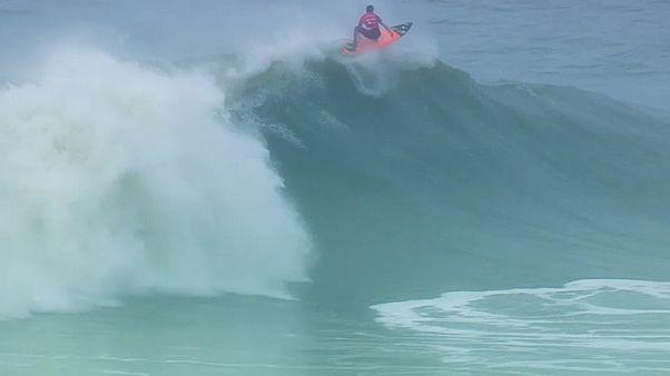 لوكاش شيانكا تحدي نازاري للأمواج العالية