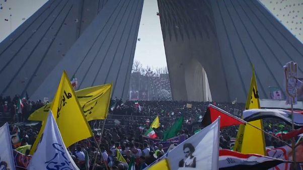 İran İslam Devrimi'nin 39'uncu yıldönümünü kutluyor