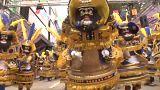 Oito pessoas morreram numa explosão durante o Carnaval de Oruro