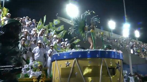 Rio'da samba zamanı