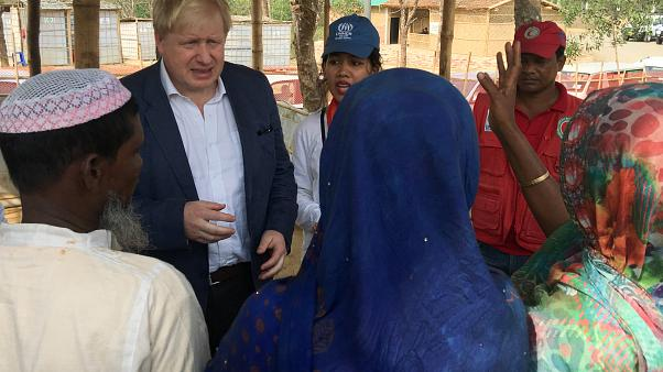 """Boris Johnson: """"Sichere und würdevolle Rückehr der Rohingya nach Myanmar"""""""