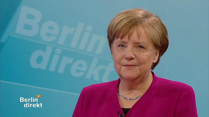 Angela Merkel verteidigt Koalitionsvertrag mit der SPD