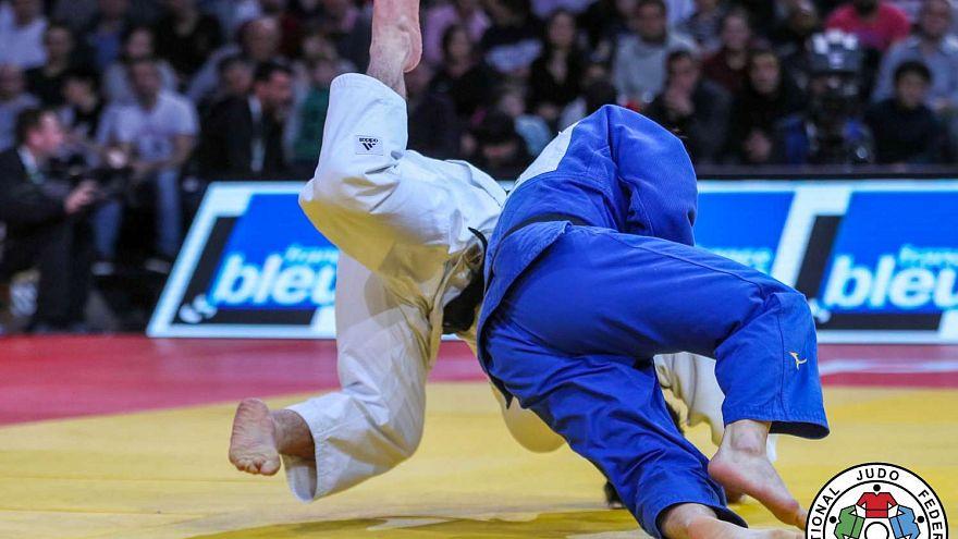 Mukai Shoichiro stuns judo world by beating  Beka Gviniashvili