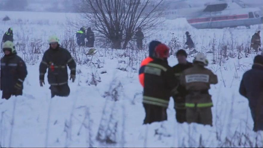 Crashed Russian plane exploded when hitting groud, investigators say