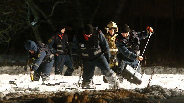 Russland: Bergungsarbeiten nach Flugzeugabsturz mit 71 Toten