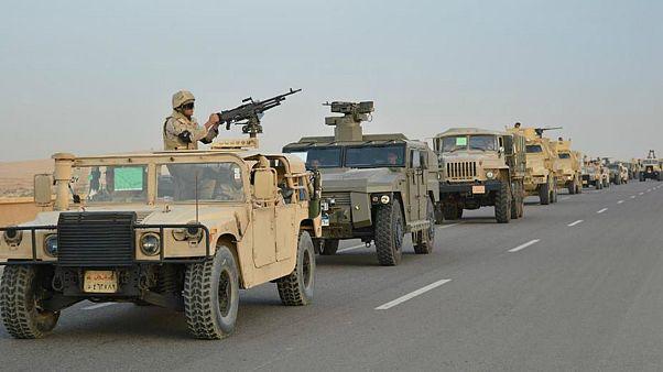 """الجيش المصري: مقتل 12 من """"التكفيريين"""" والقبض على العشرات في عملية سيناء"""