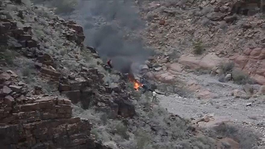 Turisták helikoptere zuhant le az Egyesült Államokban