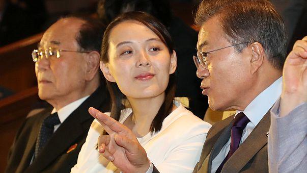 شقيقة الزعيم الكوري تغادر كوريا الجنوبية وسط مساع لتخفيف التوتر