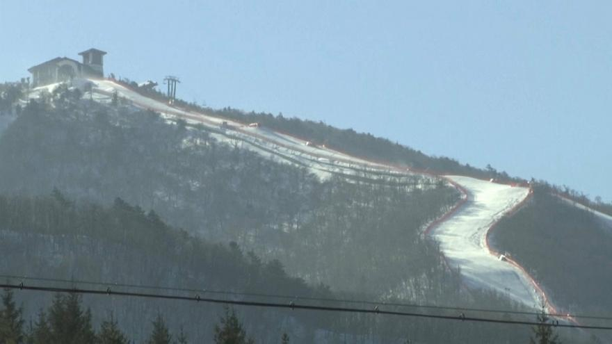 Winds of up to 70kph at Winter Olympics in South Korea
