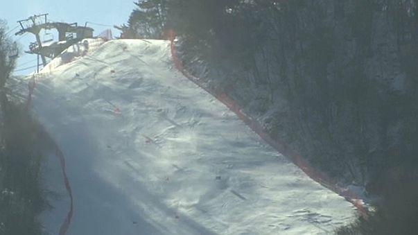 Téli olimpia: erős szél