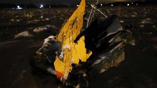 Überwachungskameras zeichnen Flugzeugabsturz in Moskau auf