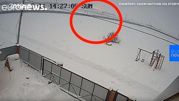 Mosca, un video delle telecamere CCTV mostra il momento dell'esplosione