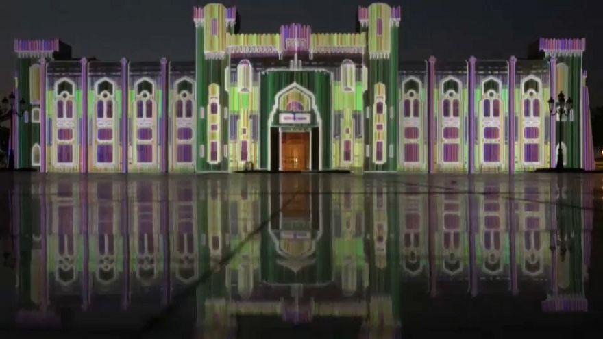 Luz y color en el Festival de Sharjah