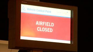 Weltkriegsbombe legt Londoner Flughafen lahm