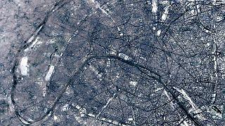 Paris enneigé, Paris photographié
