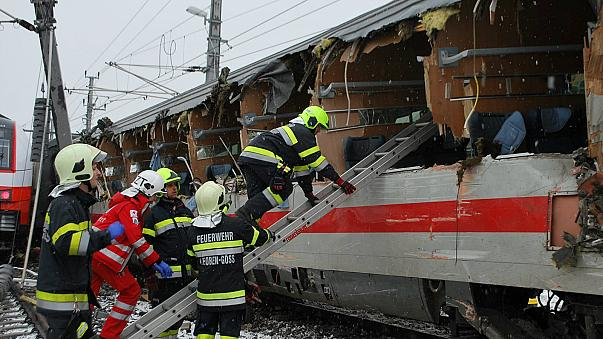 Austria train collision kills one, injures 22