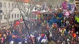 La sátira preside el carnaval portugués de Torres Vedras