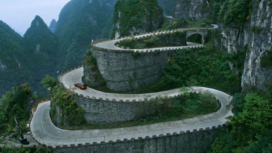 A emocionante Estrada do Dragão que leva às Portas do Céu