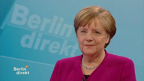 """Merkel: """"nem csorbult a tekintélyem"""""""