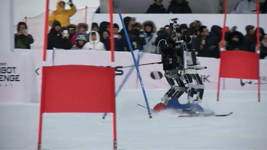 Роботы-олимпийцы