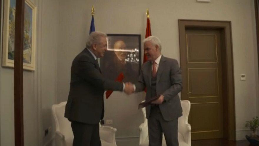 L'UE et l'Albanie signent un accord sur le contrôle des frontières
