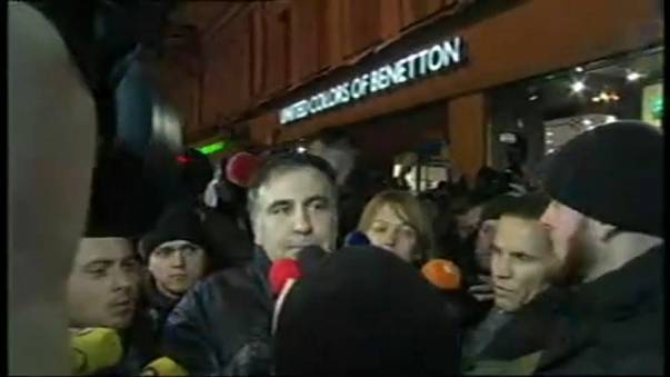 Ucrania deporta a Polonia a Mijail Saakashvili