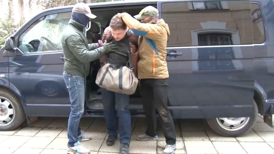 Difunden un vídeo de la detención de un supuesto espía ucraniano en Crimea