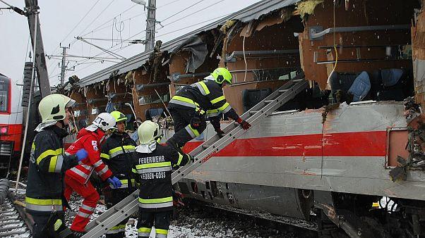 Súlyos vonatbeleset történt Ausztriában