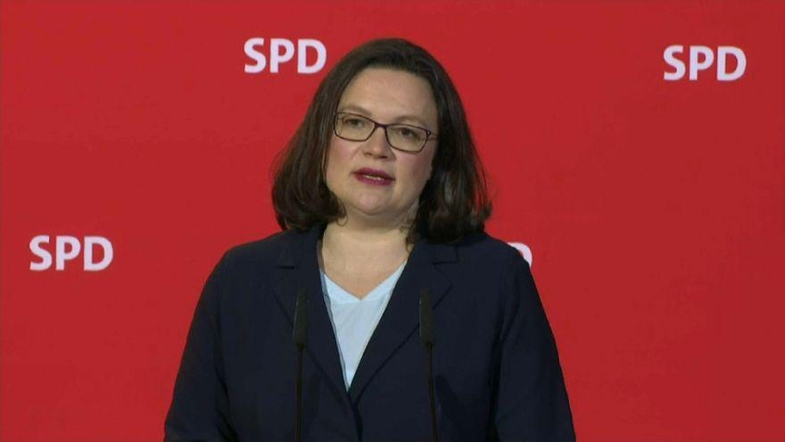 Chi è Andrea Nahles, la prima donna a capo della Spd tedesca