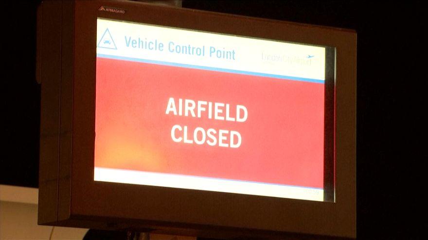 Cerrado el aeropuerto de la City por una bomba de la II Guerra Mundial
