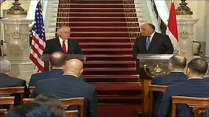US-Außenminister umreist Krisenherd Syrien