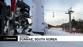 Kayak yapan robotlar olimpiyat sporcularına meydan okudu