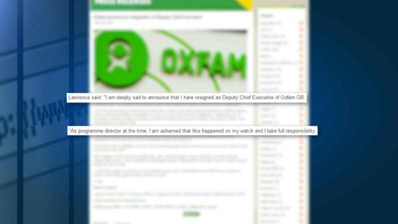 Nach Skandal um Sexpartys: Oxfam kommt nicht aus den Schlagzeilen