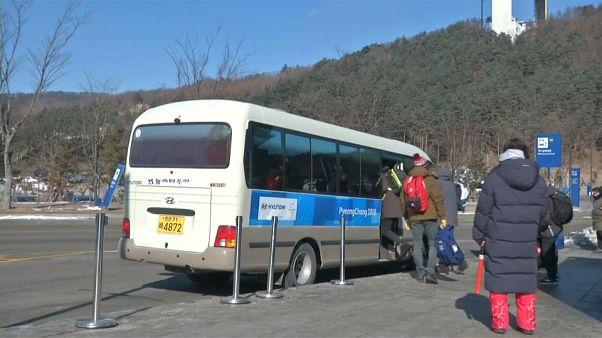 Pyeongchang 2018: caos nei trasporti