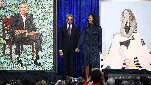 Revelados Retratos oficiais de Barack e Michelle Obama