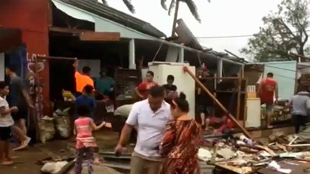 Циклон «Гита» уничтожил 70% жилых домов в столице островного королевства Тонга